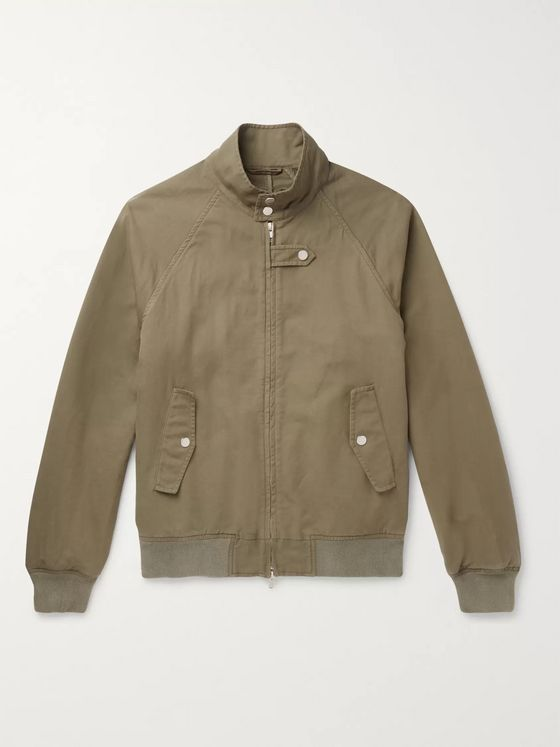 MAN 1924 Cotton-Blend Twill Bomber Jacket