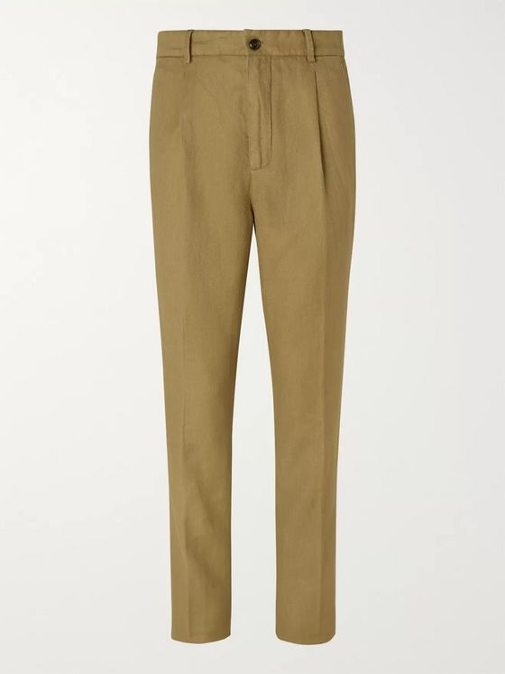 MAN 1924 Tobacco George Twill Trousers
