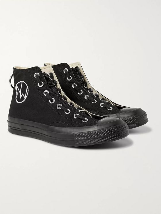 Converse + Undercover Chuck 70 Canvas High-Top Sneakers