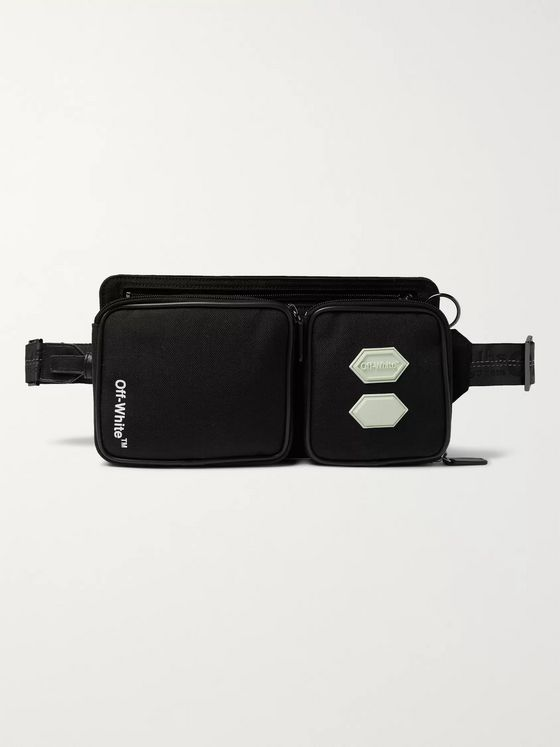 Off-White Logo-Appliquéd CORDURA Belt Bag