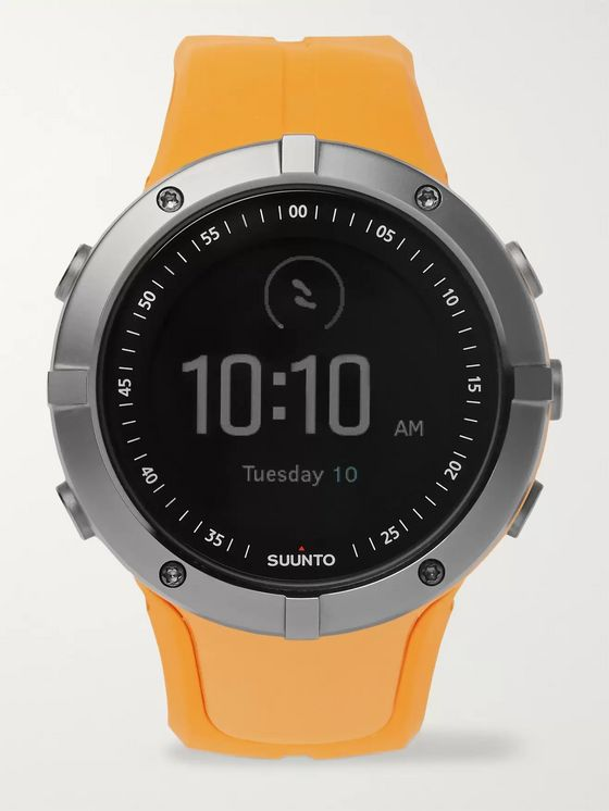 Suunto Spartan Sport GPS Stainless Steel and Silicone Watch