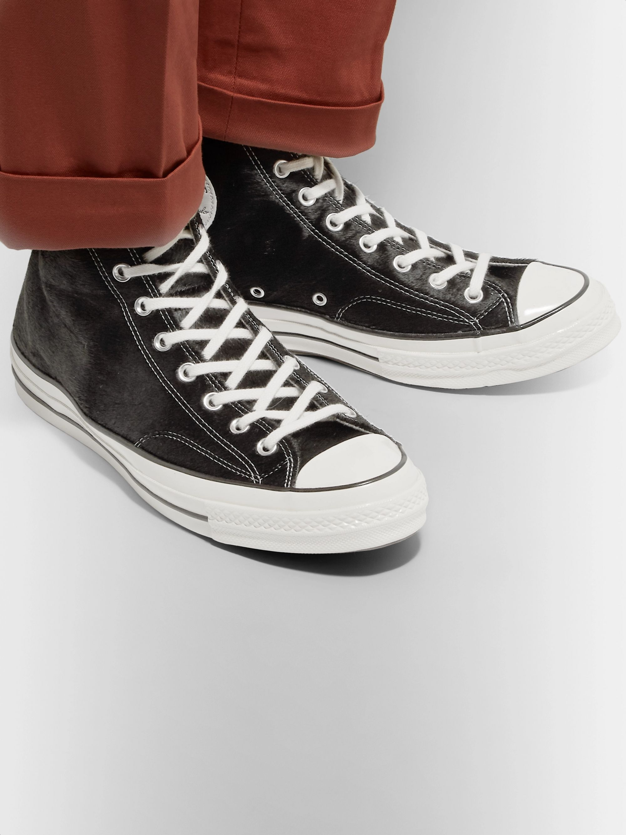 Converse 1970s Chuck Taylor All Star Calf Hair High-Top Sneakers