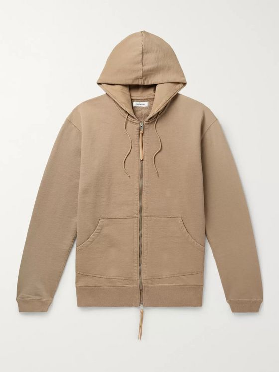 nonnative Dweller Loopback Cotton-Jersey Zip-Up Hoodie