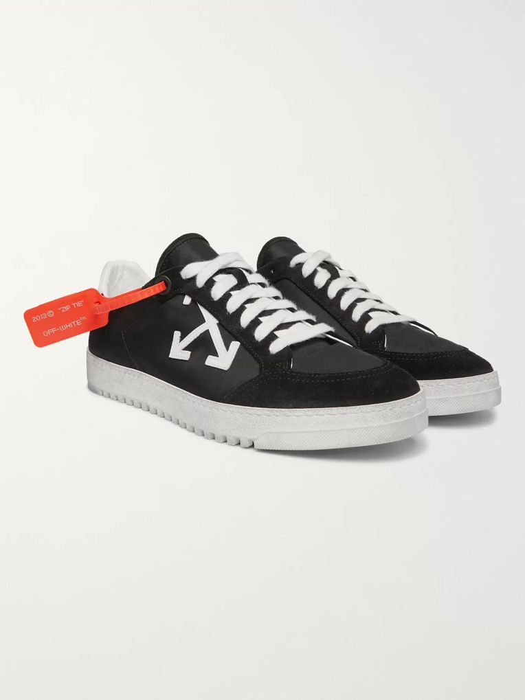 Off-White 3.0 Polo Suede-Trimmed Shell Sneakers