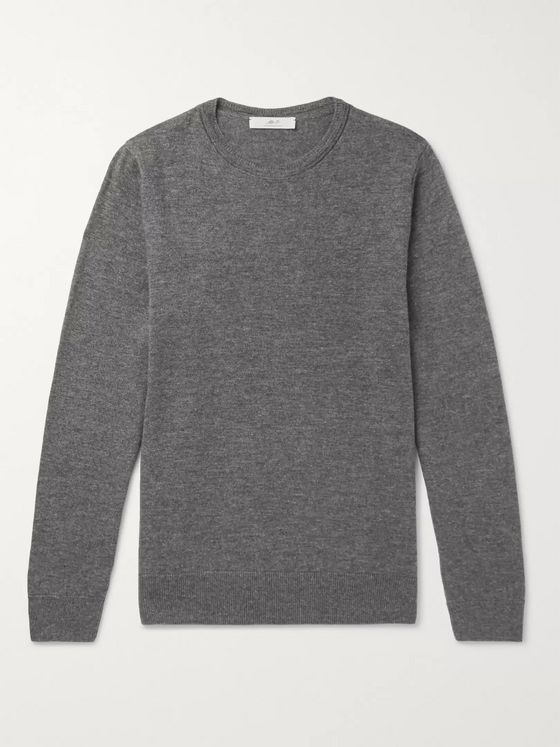 MR P. Slim-Fit Merino Wool Sweater