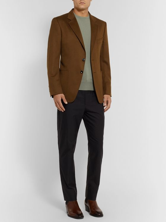 TOM FORD Olive O'Connor Slim-Fit Cashmere Blazer