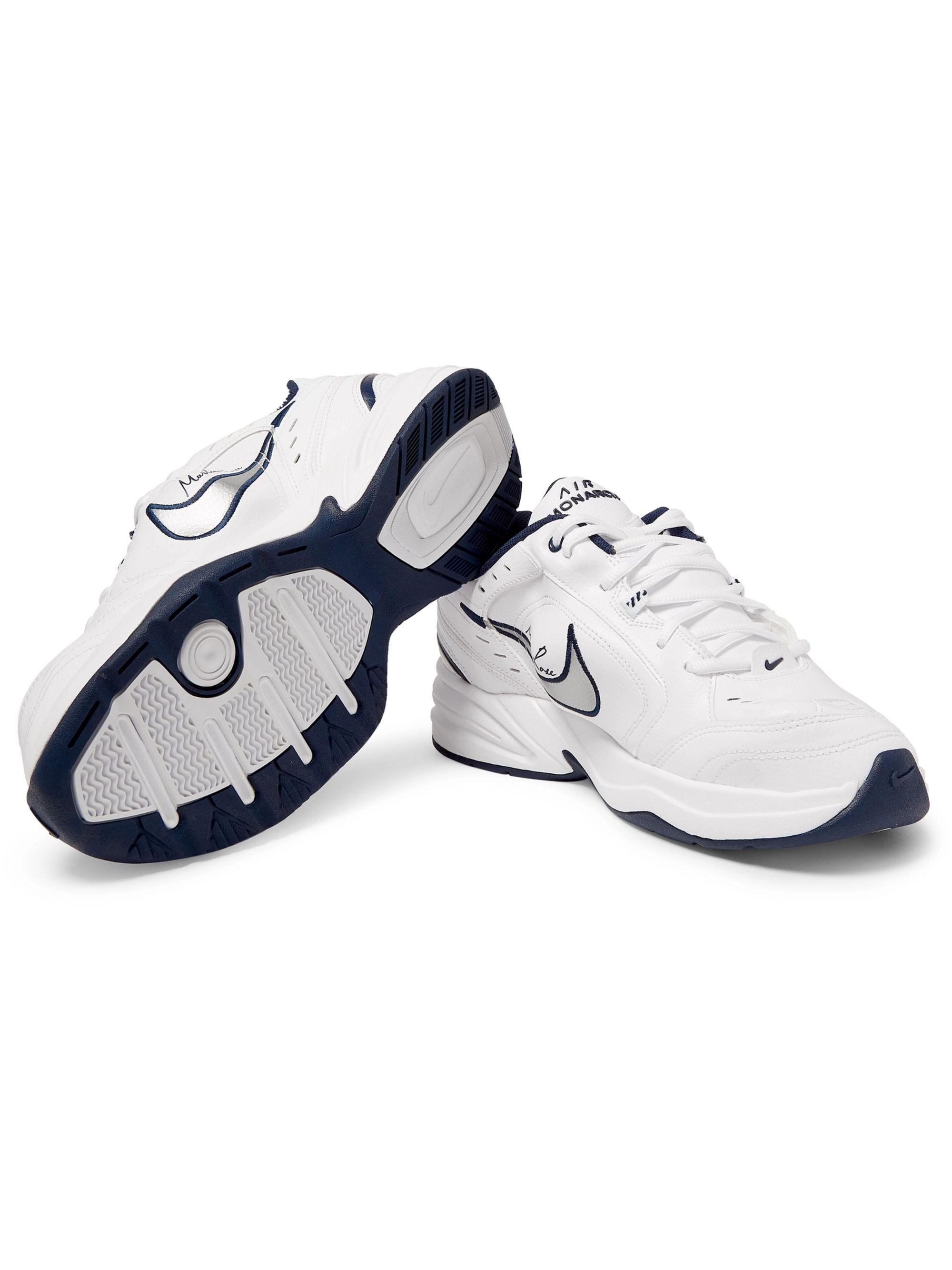 Nike Martine Rose X Air Monarch Iv White Navy | Grailed