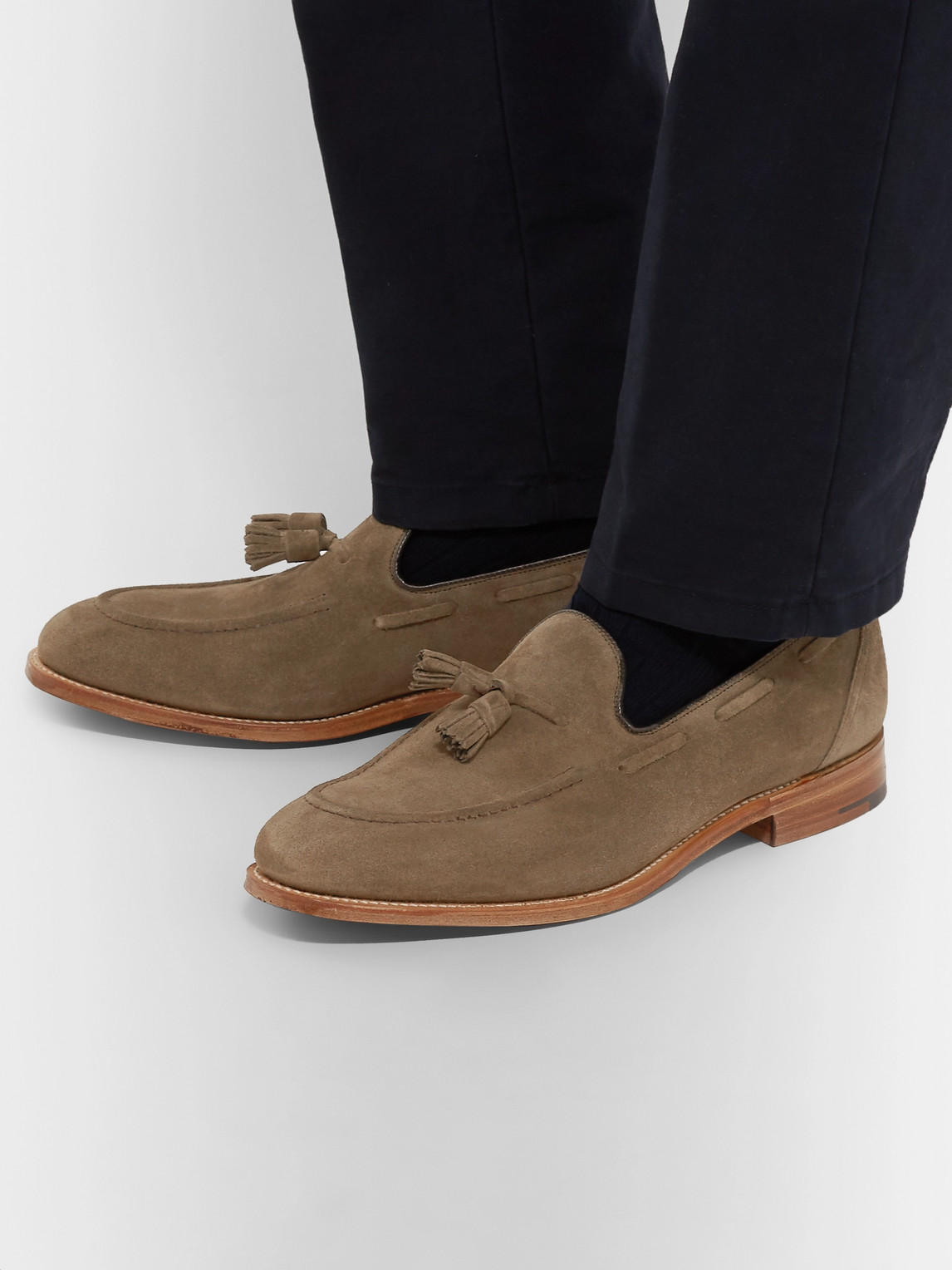 Church's Loafers KINGSLEY 2 SUEDE TASSELLED LOAFERS