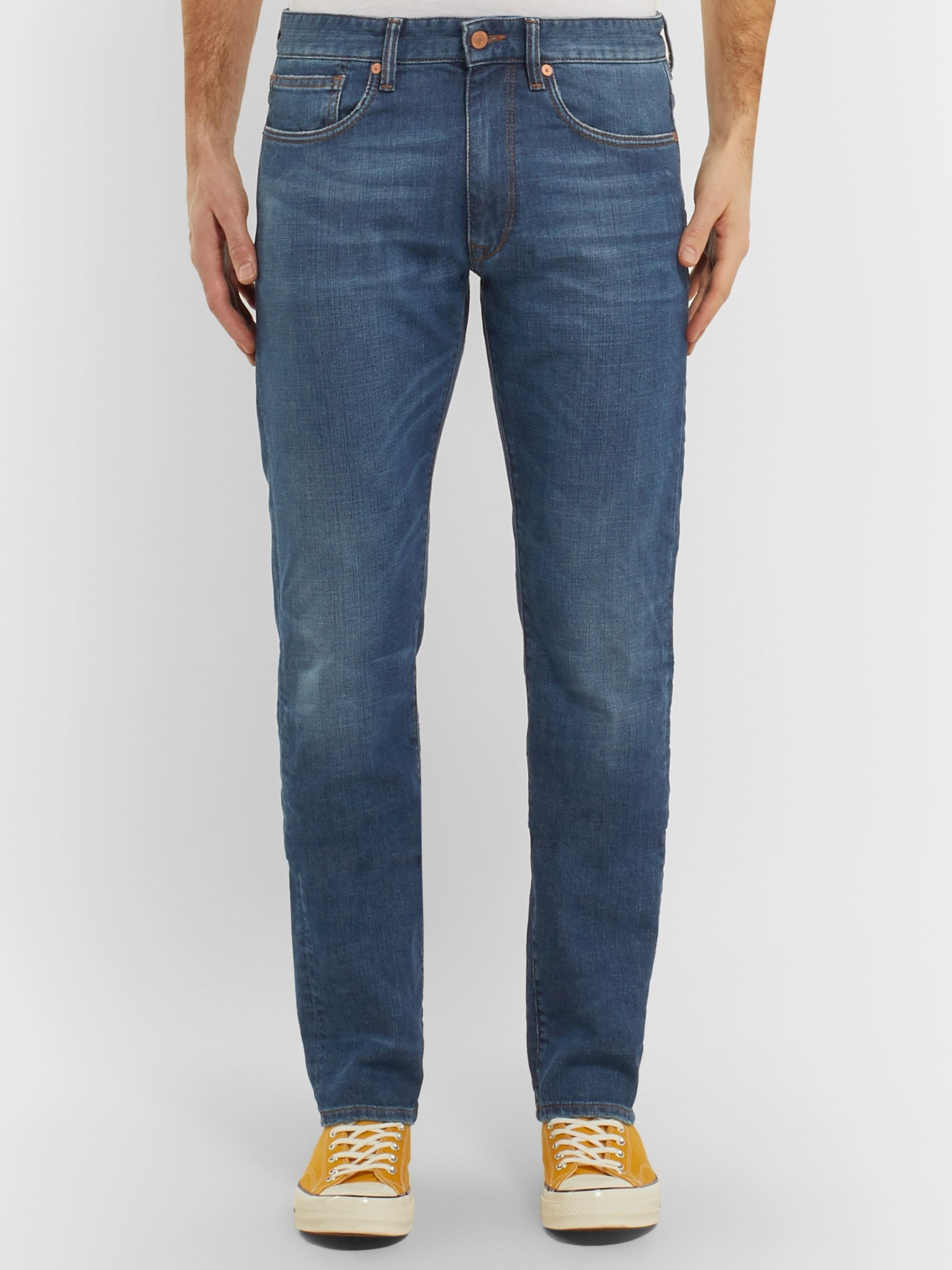 Incotex Sky Slim-Fit Stretch-Denim Jeans