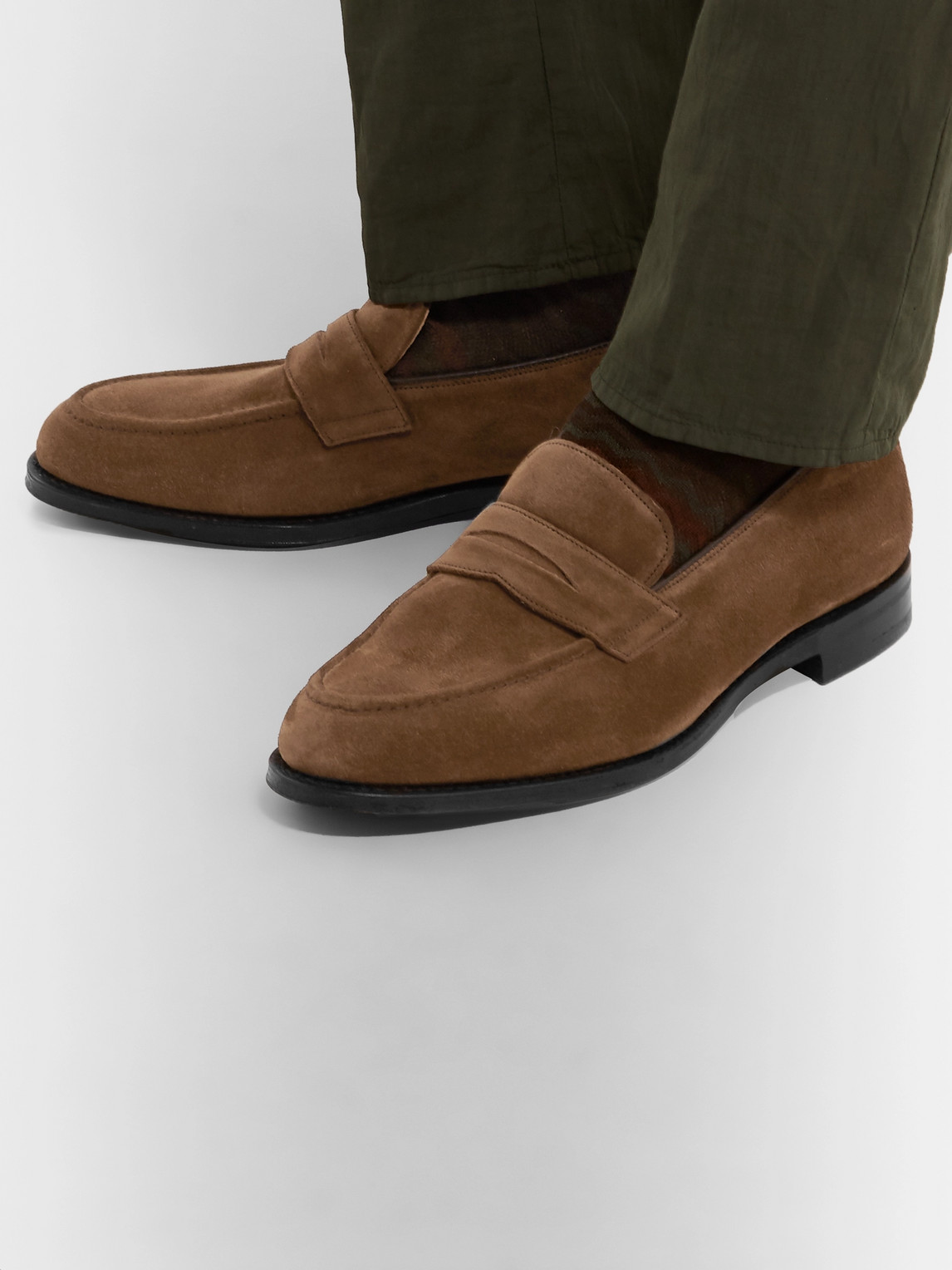 Church's Loafers NETTON SUEDE LOAFERS