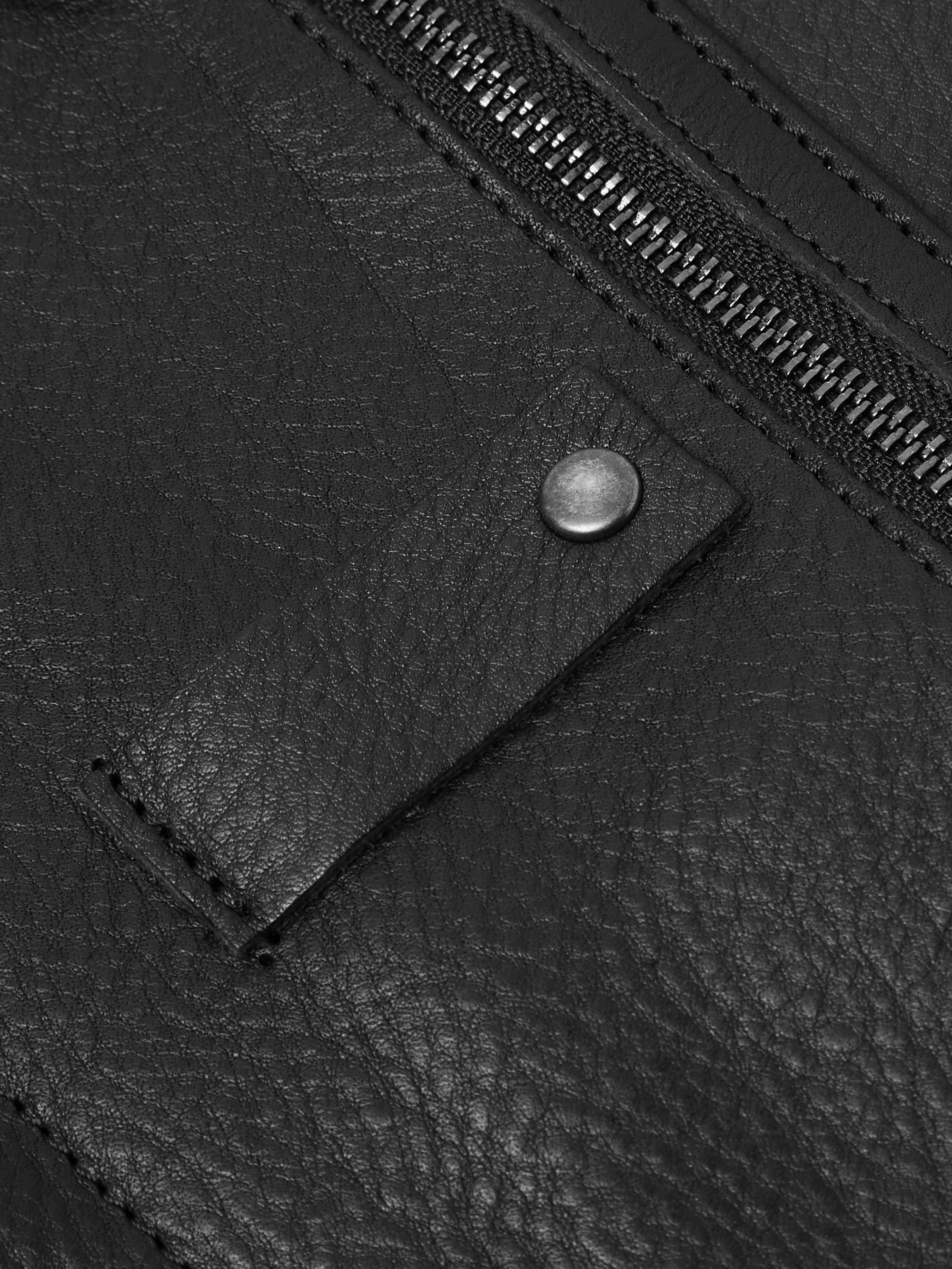 This Is Ground Mod Tablet Mini Full-Grain Leather Pouch