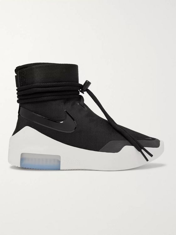 Nike + Fear of God Air Shoot Around Mesh High-Top Sneakers