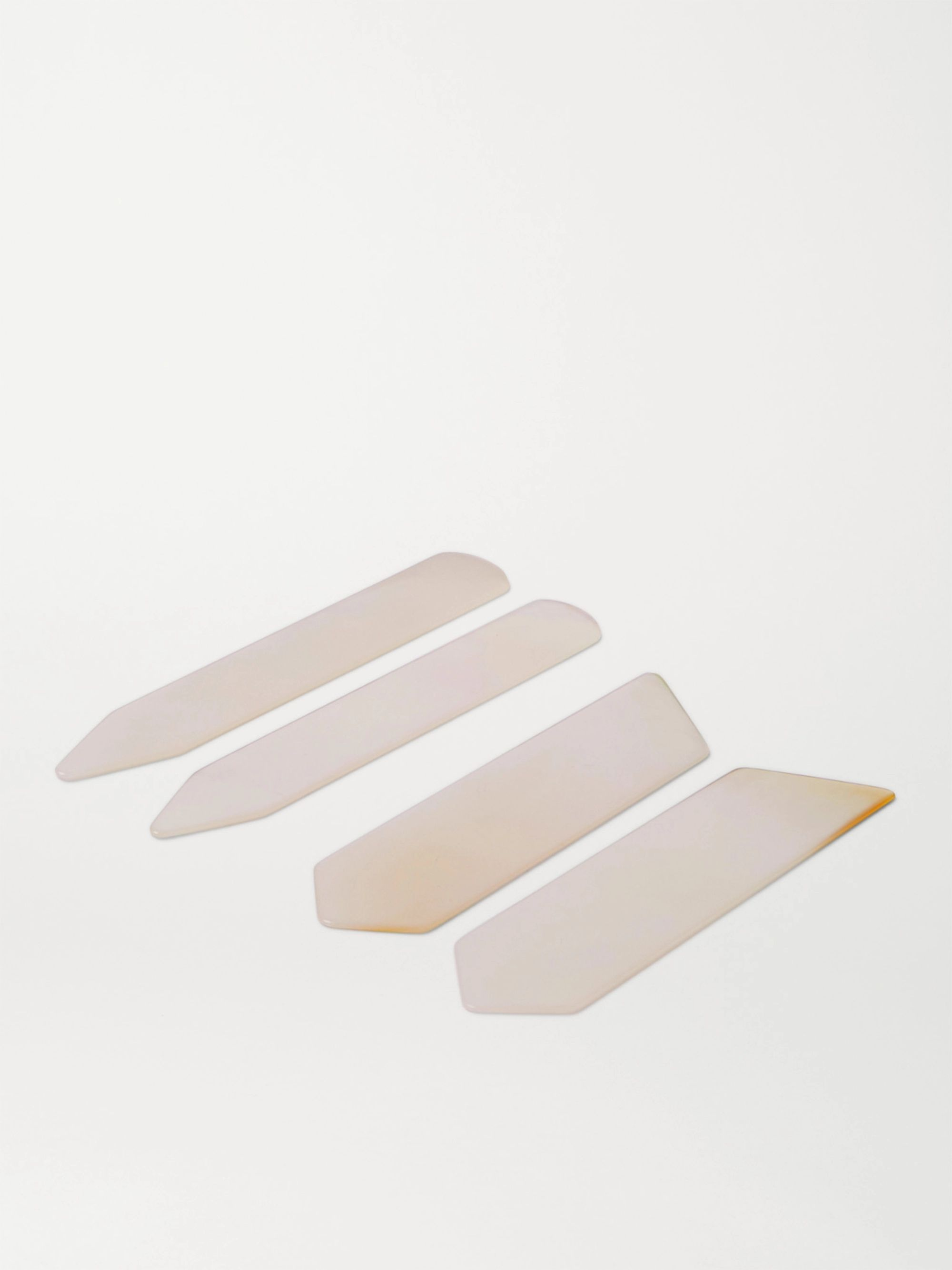Lorenzi Milano Set of Two Mother-of-Pearl Collar Stays