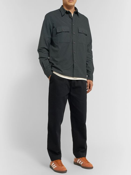 PS Paul Smith Checked Cotton-Flannel Shirt