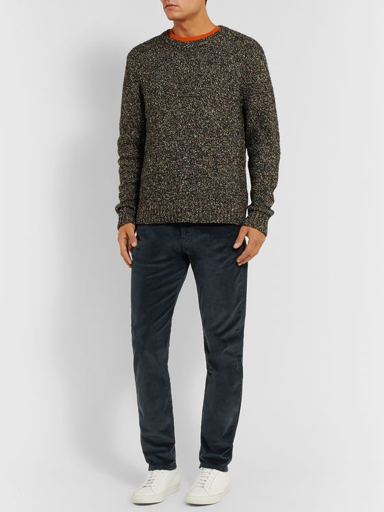 PS Paul Smith Cotton-Blend Corduroy Trousers