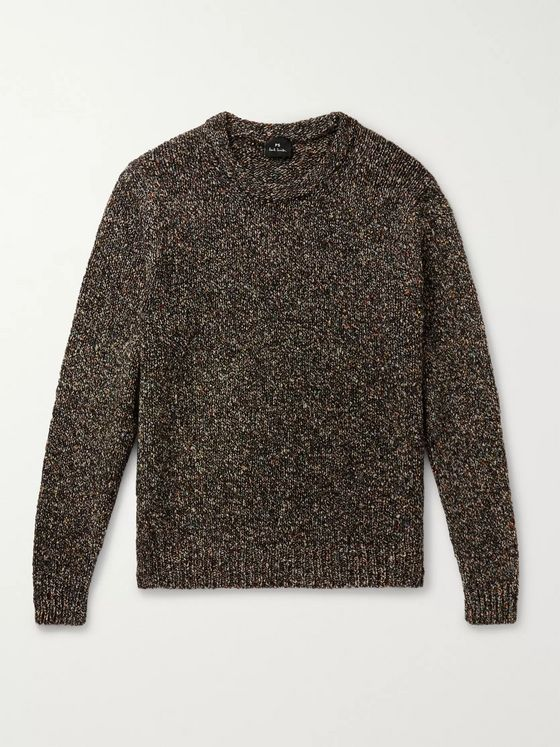 PS Paul Smith Mélange Knitted Sweater