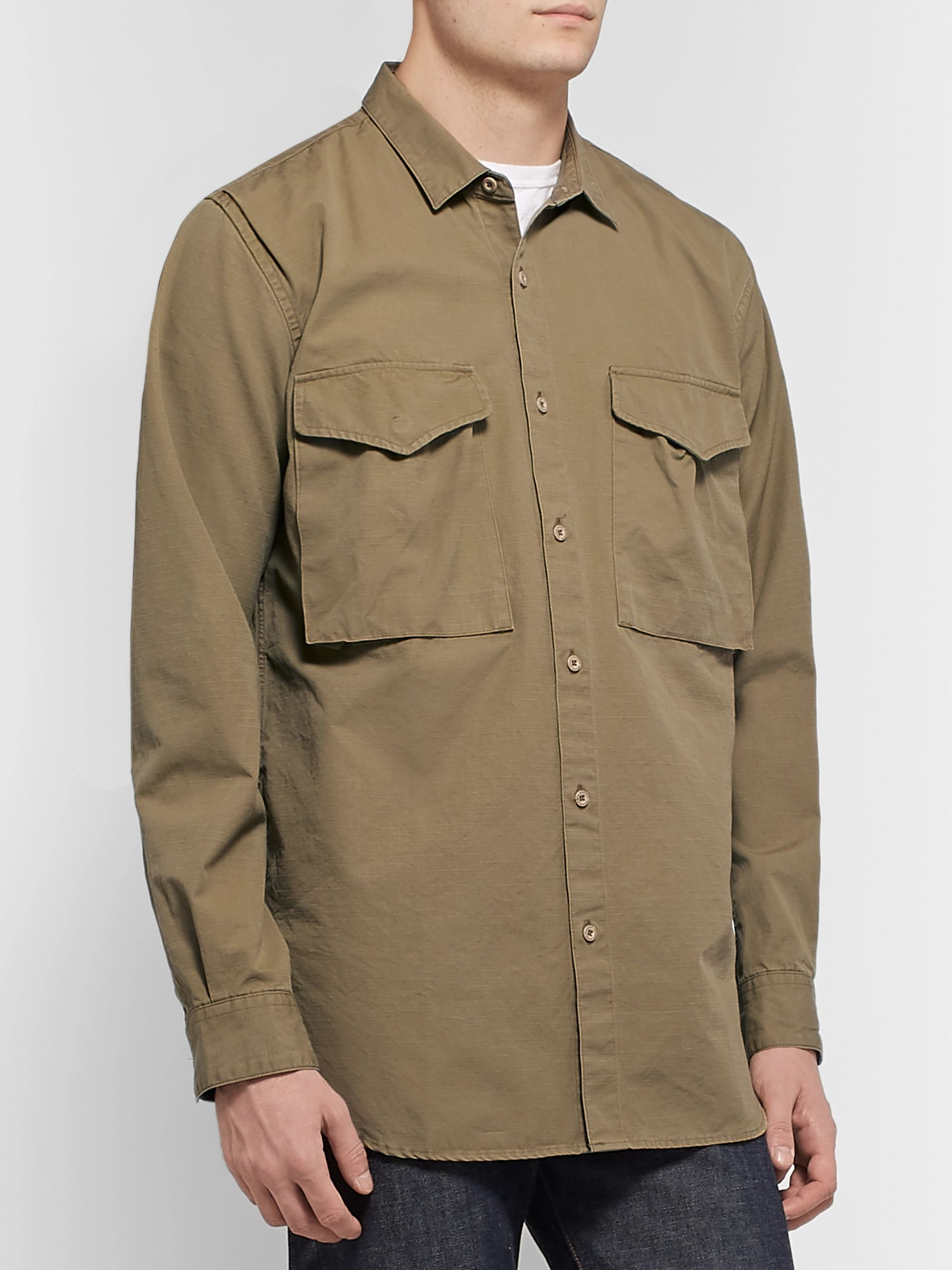 nonnative Hunter Cotton-Ripstop Overshirt