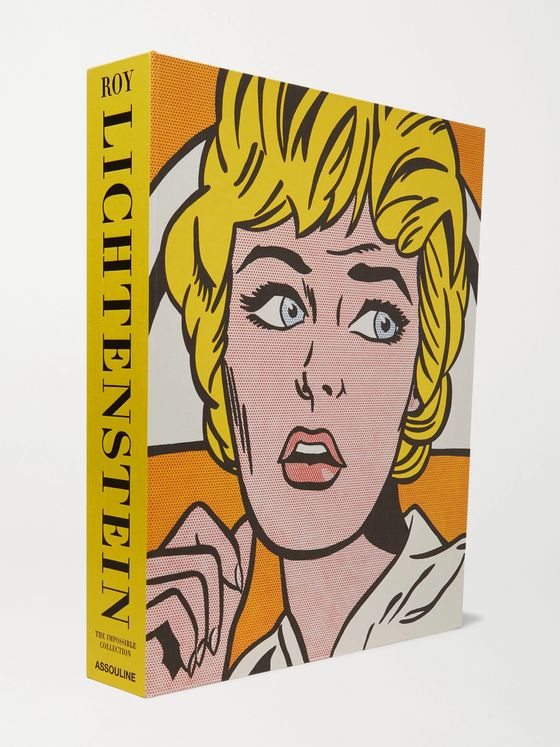 Assouline Roy Lichtenstein: The Impossible Collection Hardcover Book