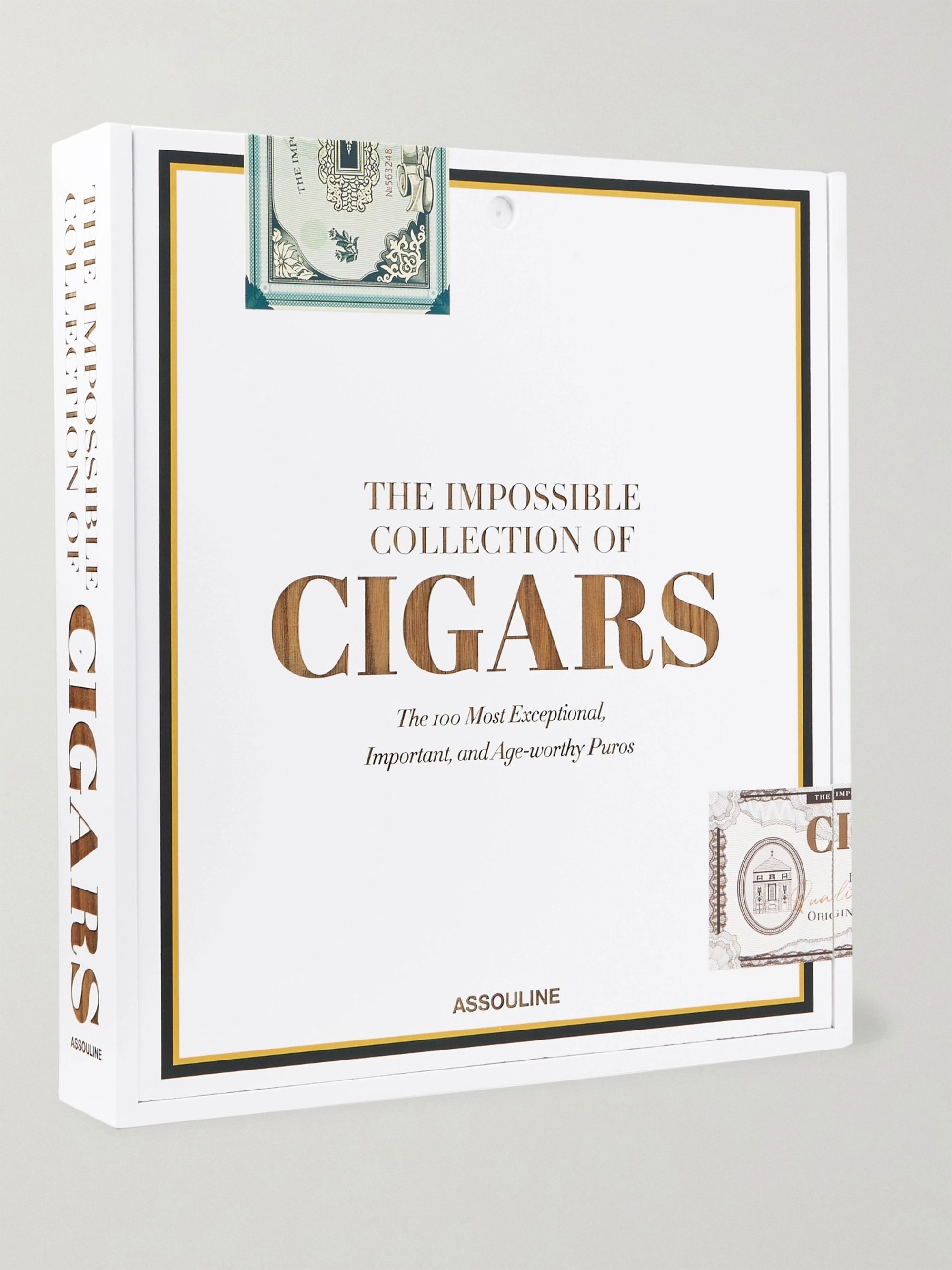 Assouline The Impossible Collection of Cigars Hardcover Book Box Set