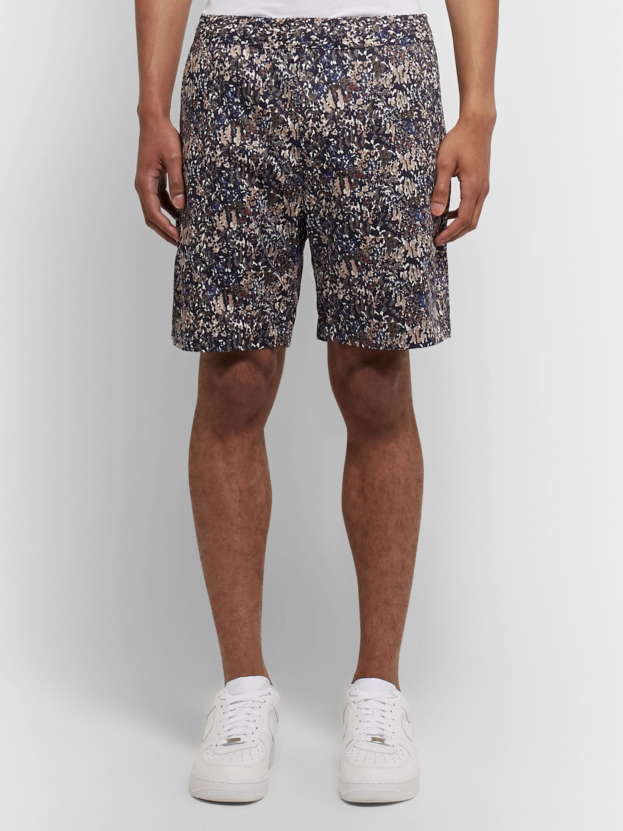 Norse Projects + Liberty Luther Printed Cotton Shorts