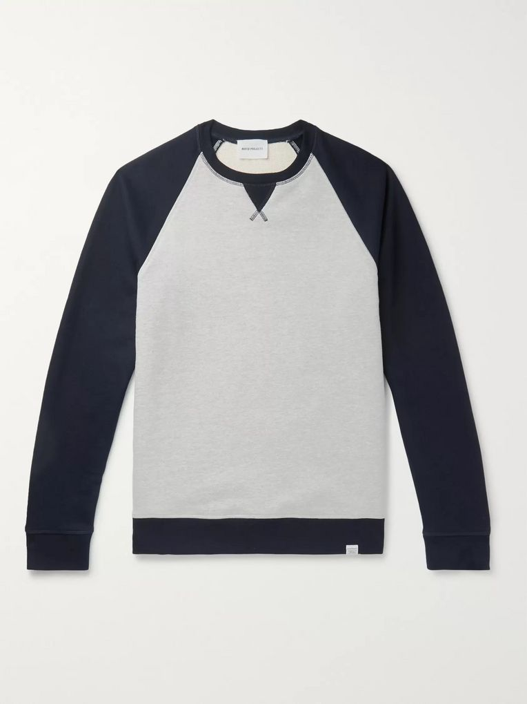 Norse Projects Ketel Loopback Cotton-Jersey Sweatshirt