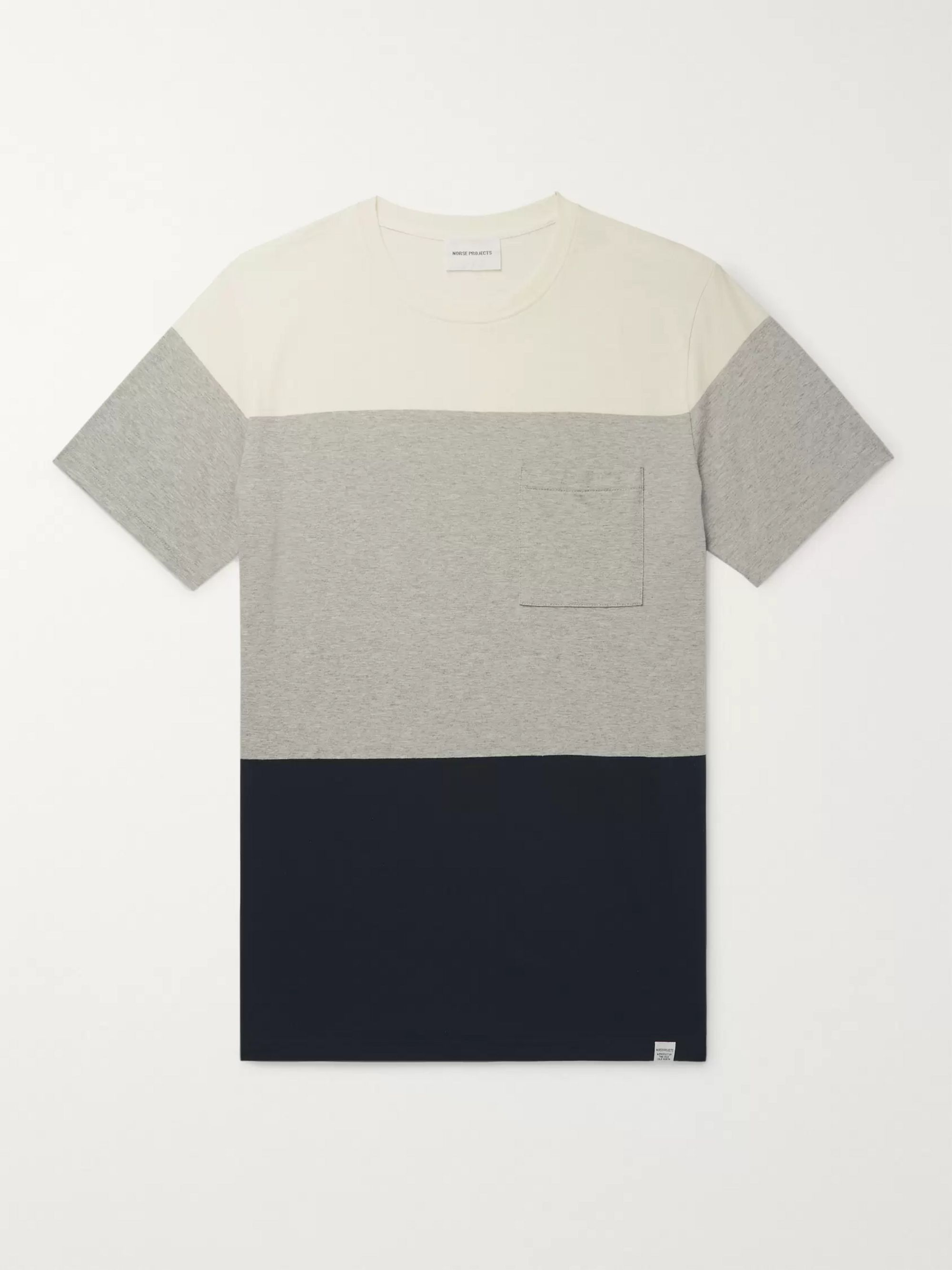Norse Projects Niels Colour-Block Cotton-Jersey T-Shirt
