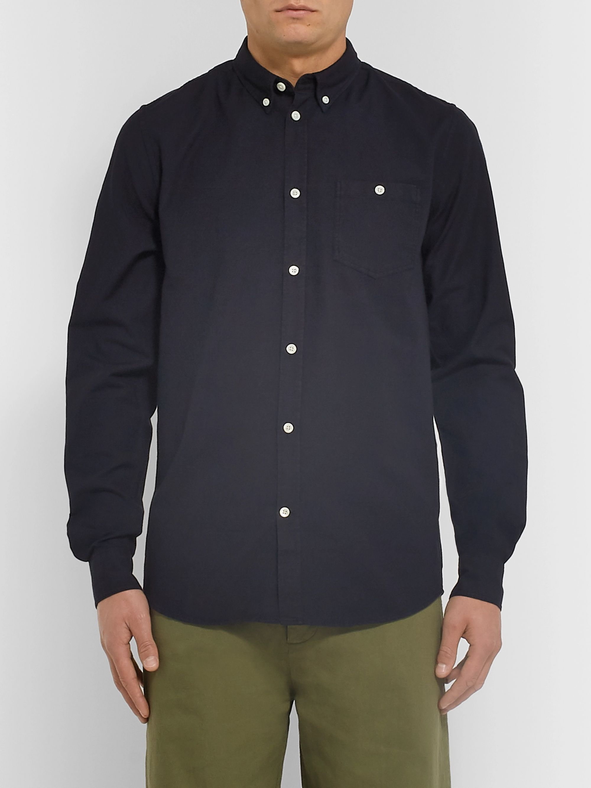 Norse Projects Anton Button-Down Collar Cotton Shirt