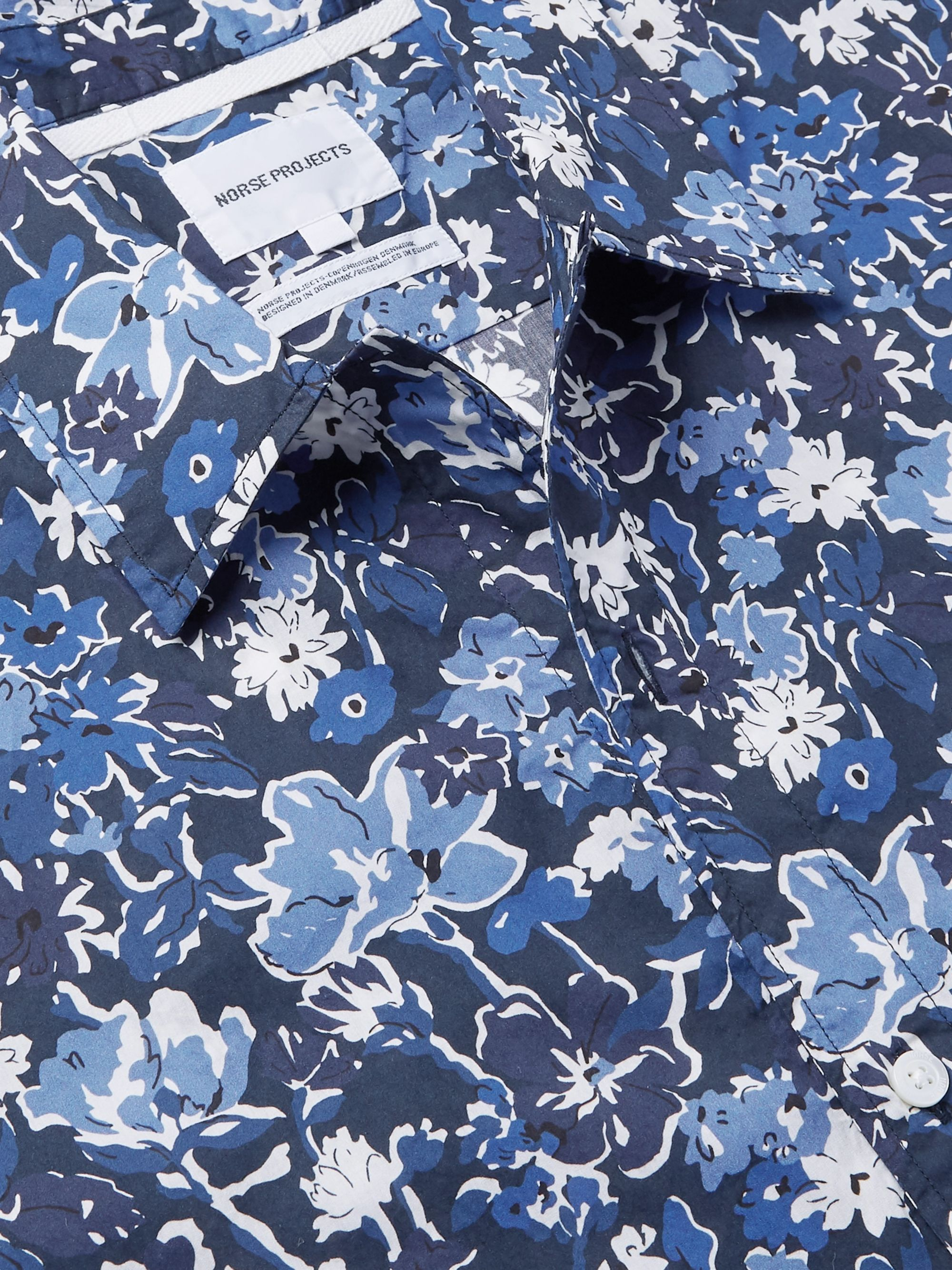 Norse Projects Carsten Printed Cotton Shirt