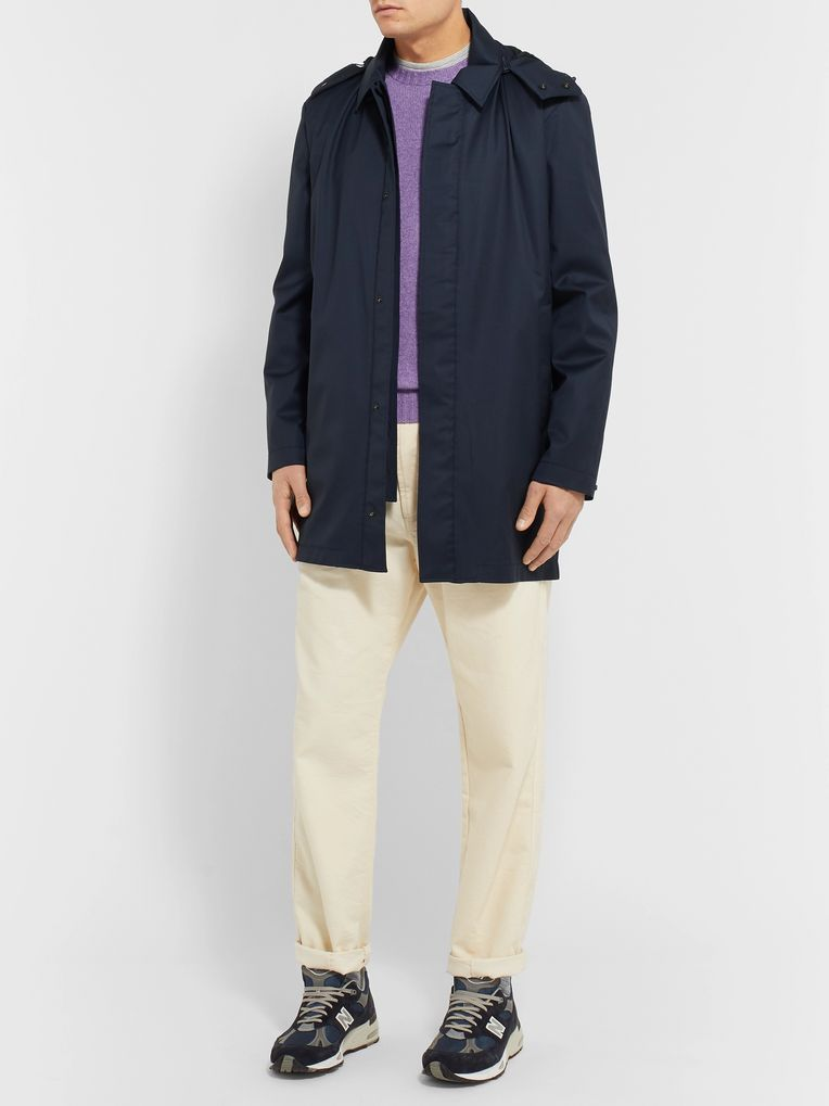 Norse Projects Trondheim Storm System Wool Hooded Coat
