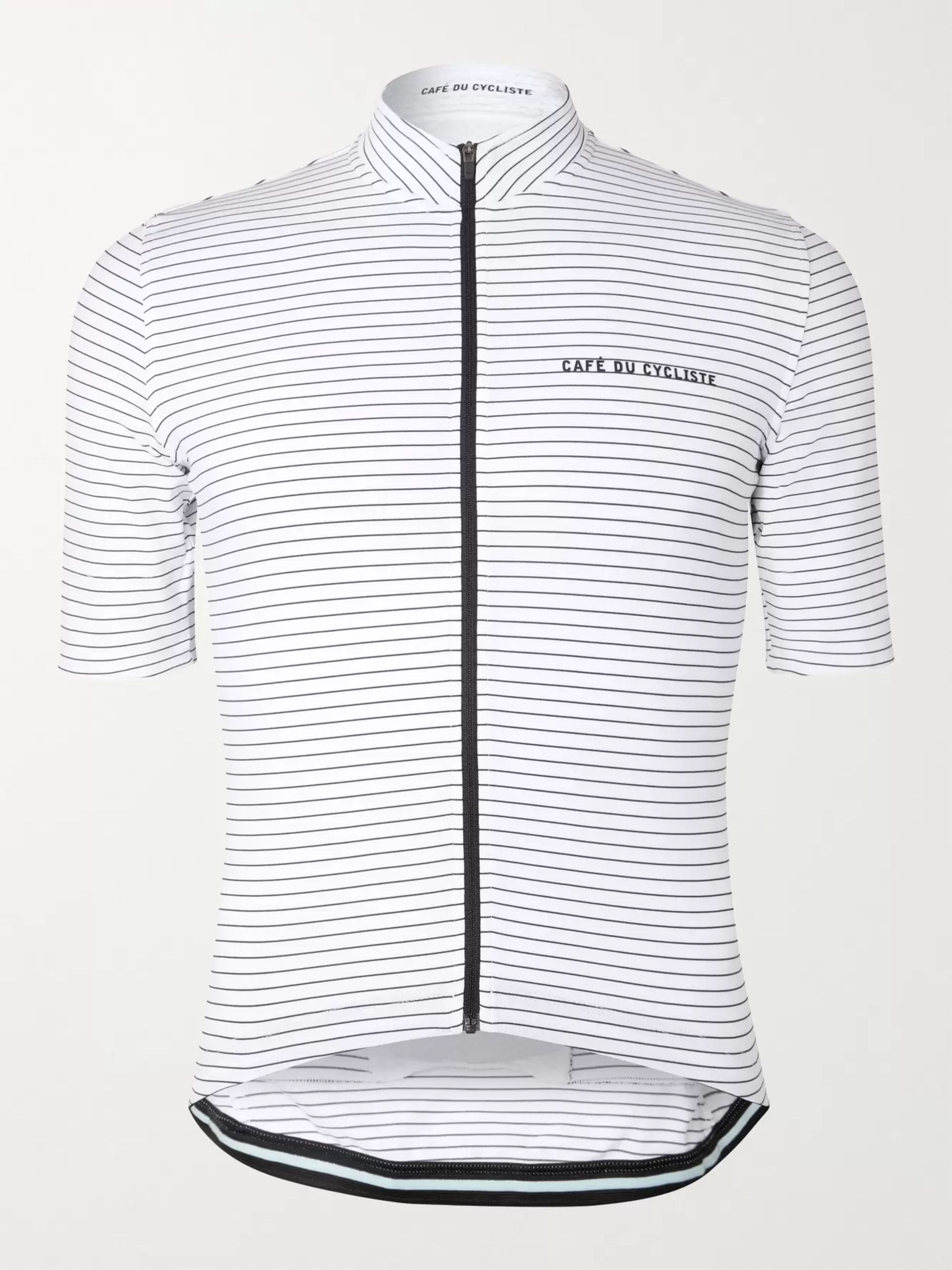 Cafe du Cycliste Francine Striped Cycling Jersey
