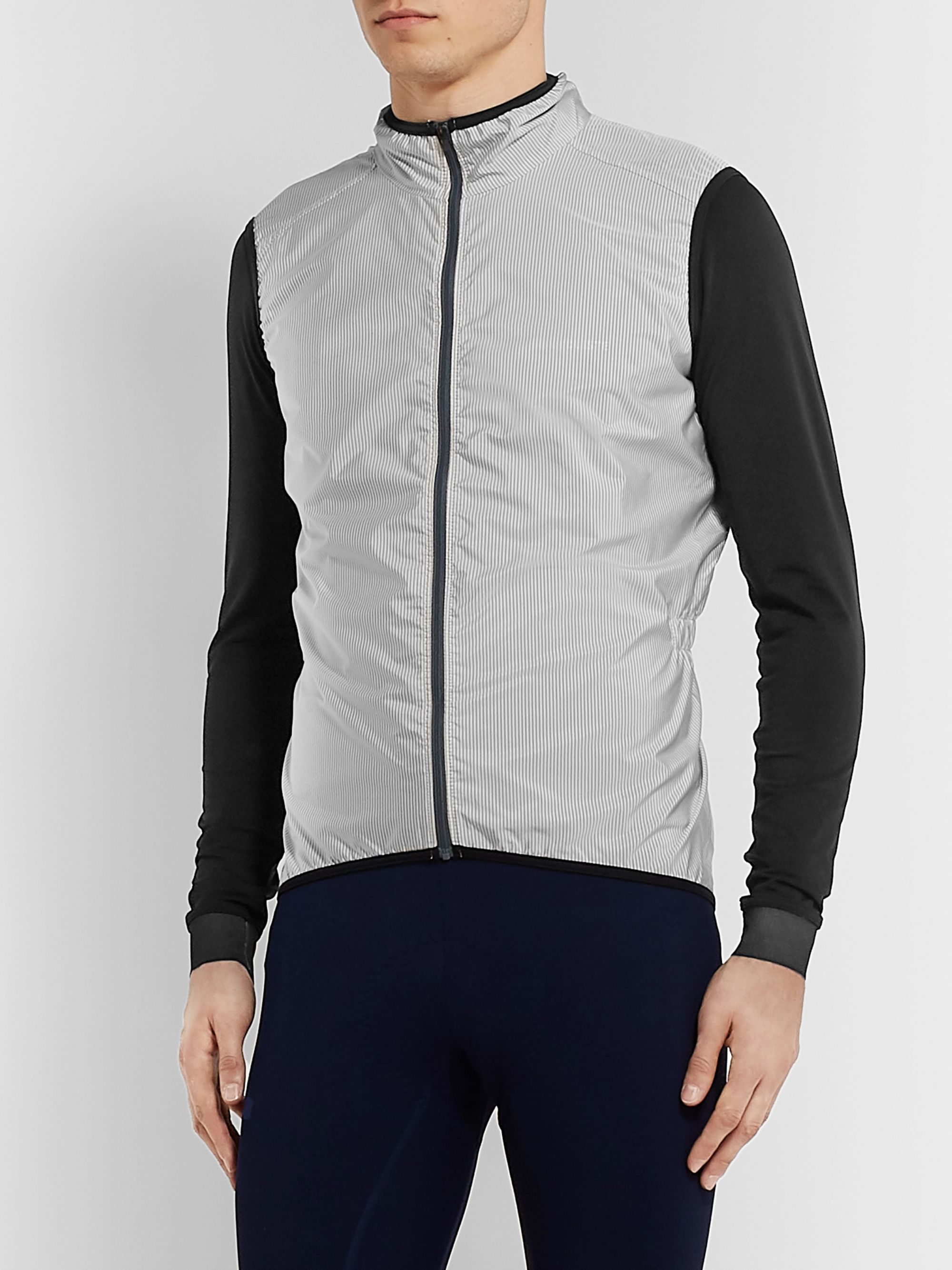 Cafe du Cycliste Madeleine Striped Cycling Gilet