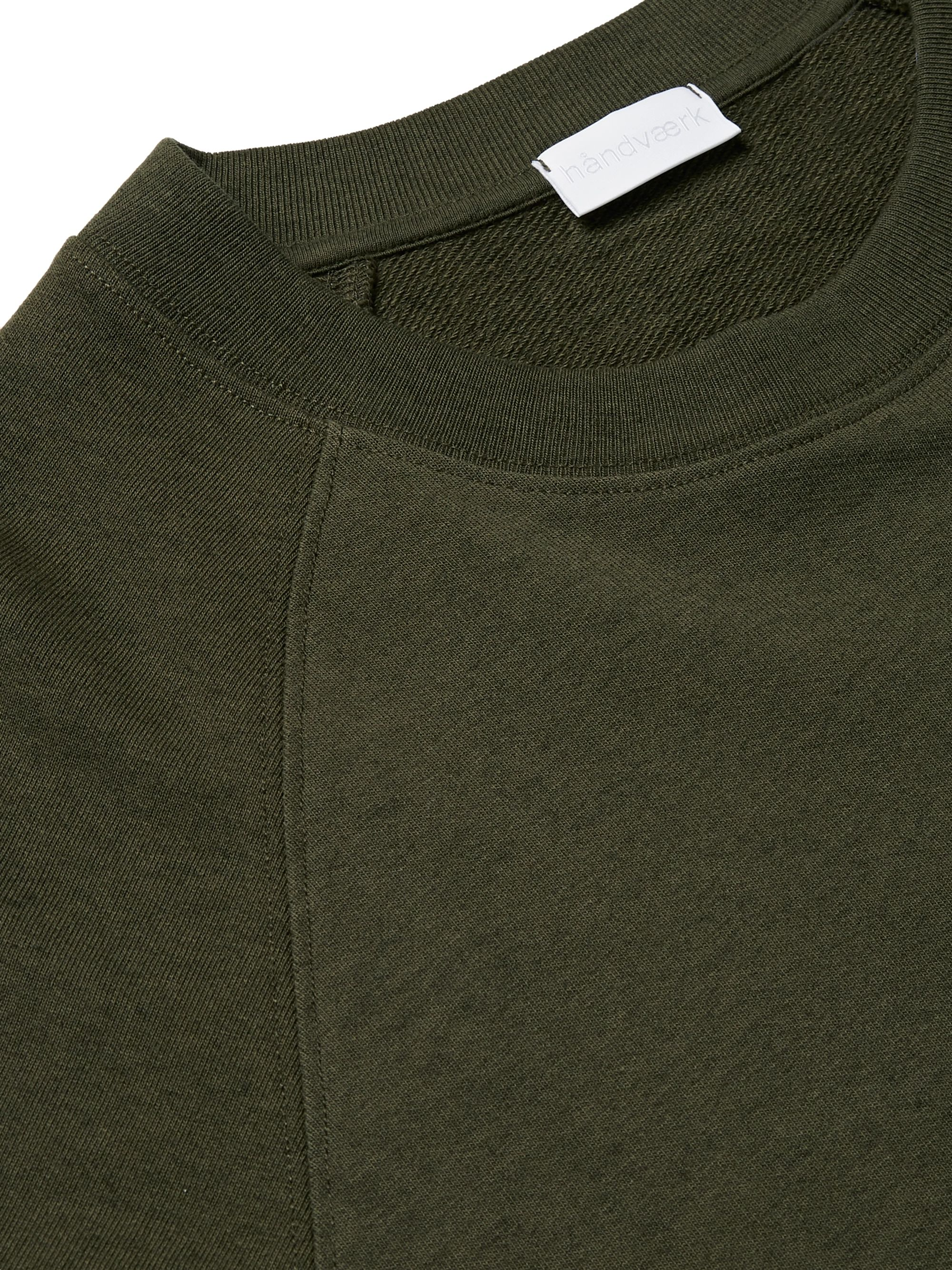 Handvaerk Pima Cotton and Baby Alpaca-Blend Sweatshirt
