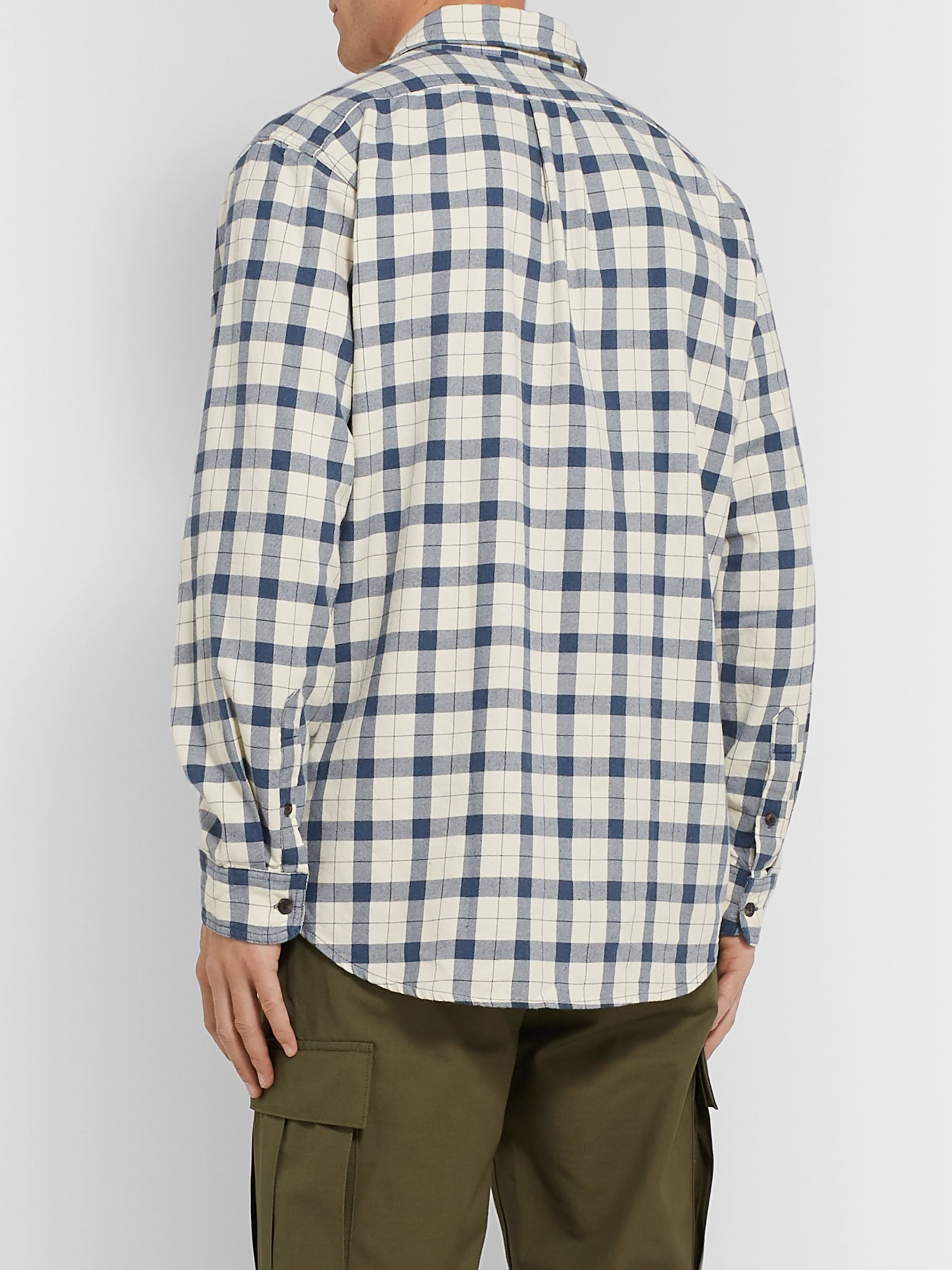 Filson Alaskan Guide Checked Cotton-Flannel Shirt