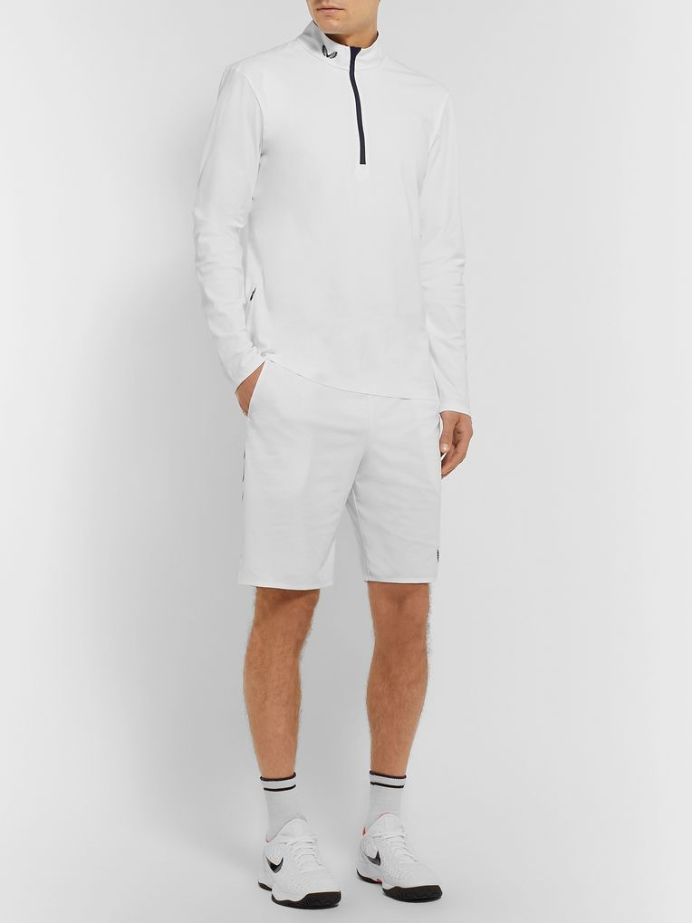 CASTORE + Andy Murray Franklin Stretch Tech-Jersey Half-Zip Tennis T-Shirt