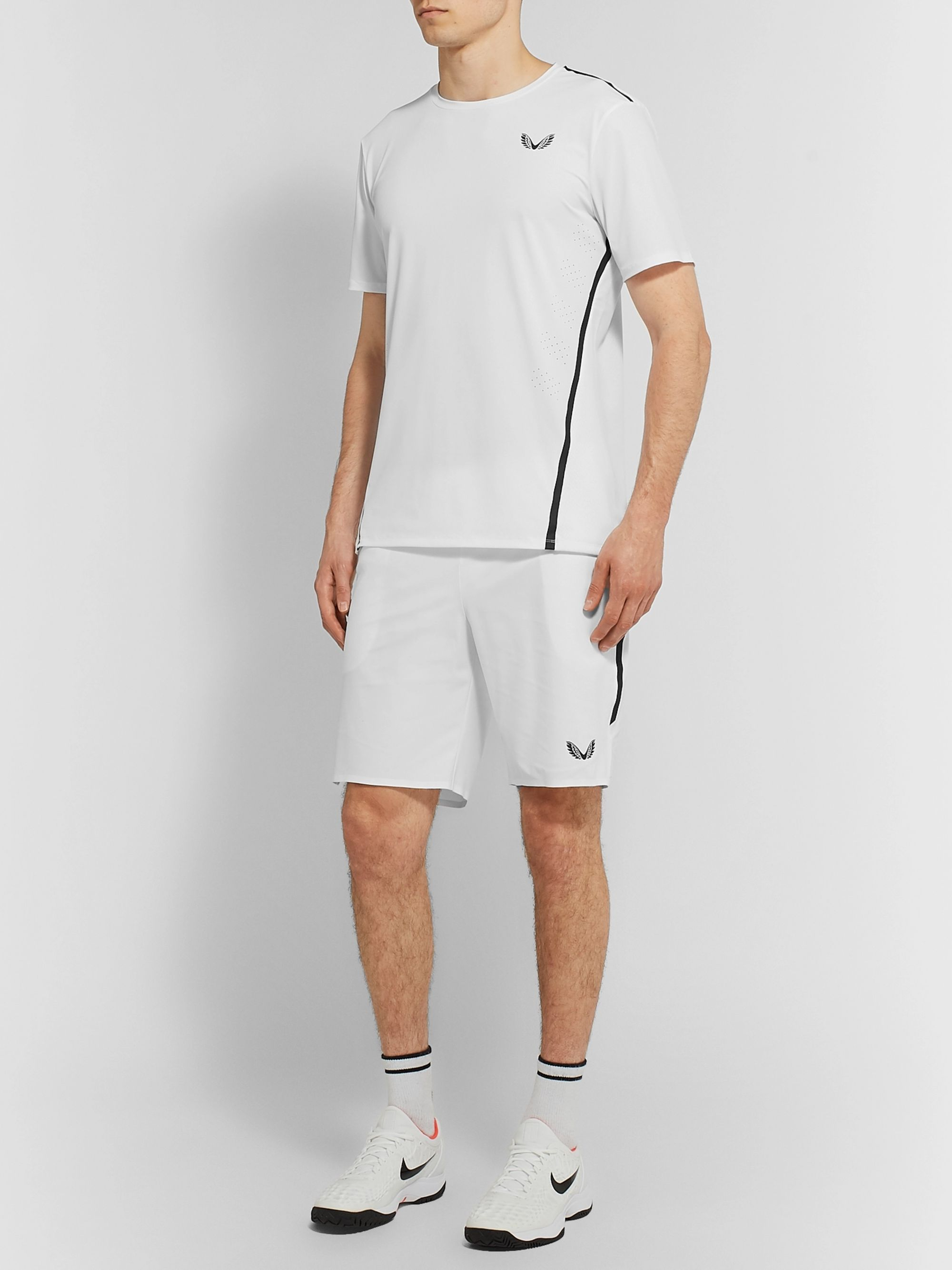 CASTORE + Andy Murray Louis Slim-Fit Stretch Tech-Jersey Shorts