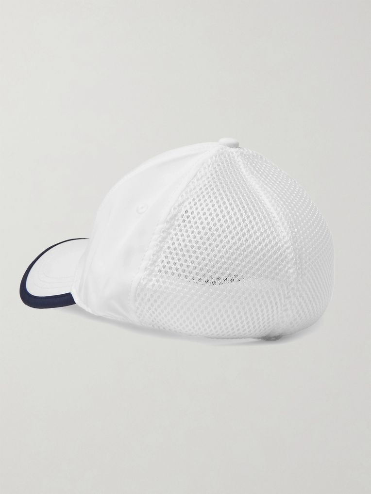 CASTORE + Andy Murray Logo-Embroidered Stretch Tech-Jersey and Mesh Tennis Cap