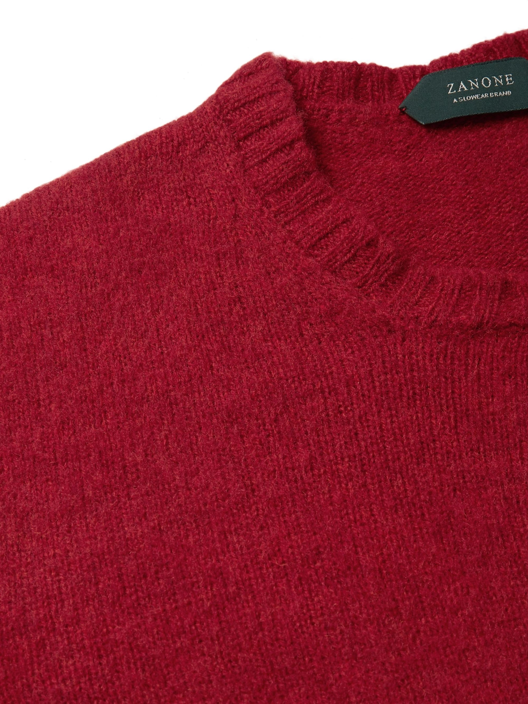 Incotex Slim-Fit Virgin Wool Sweater