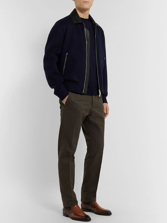 Ermenegildo Zegna Slim-Fit Wool Sweater