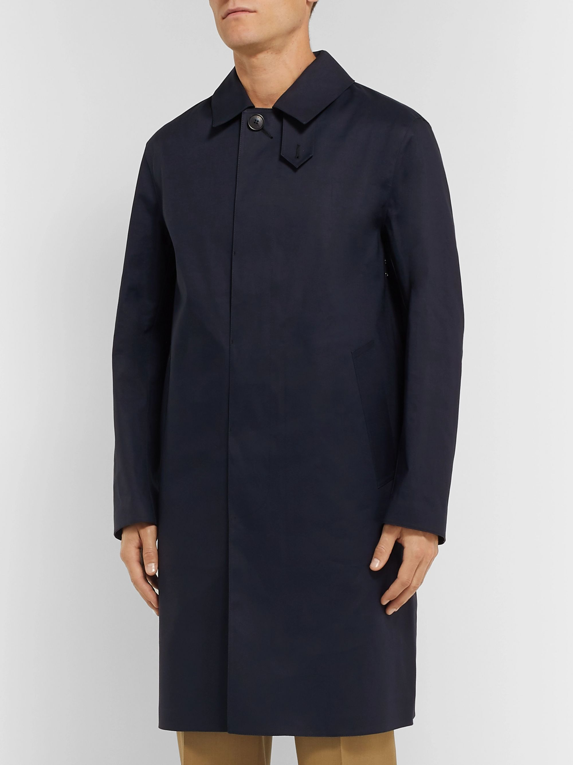 MACKINTOSH Dunkeld Bonded Cotton Raincoat