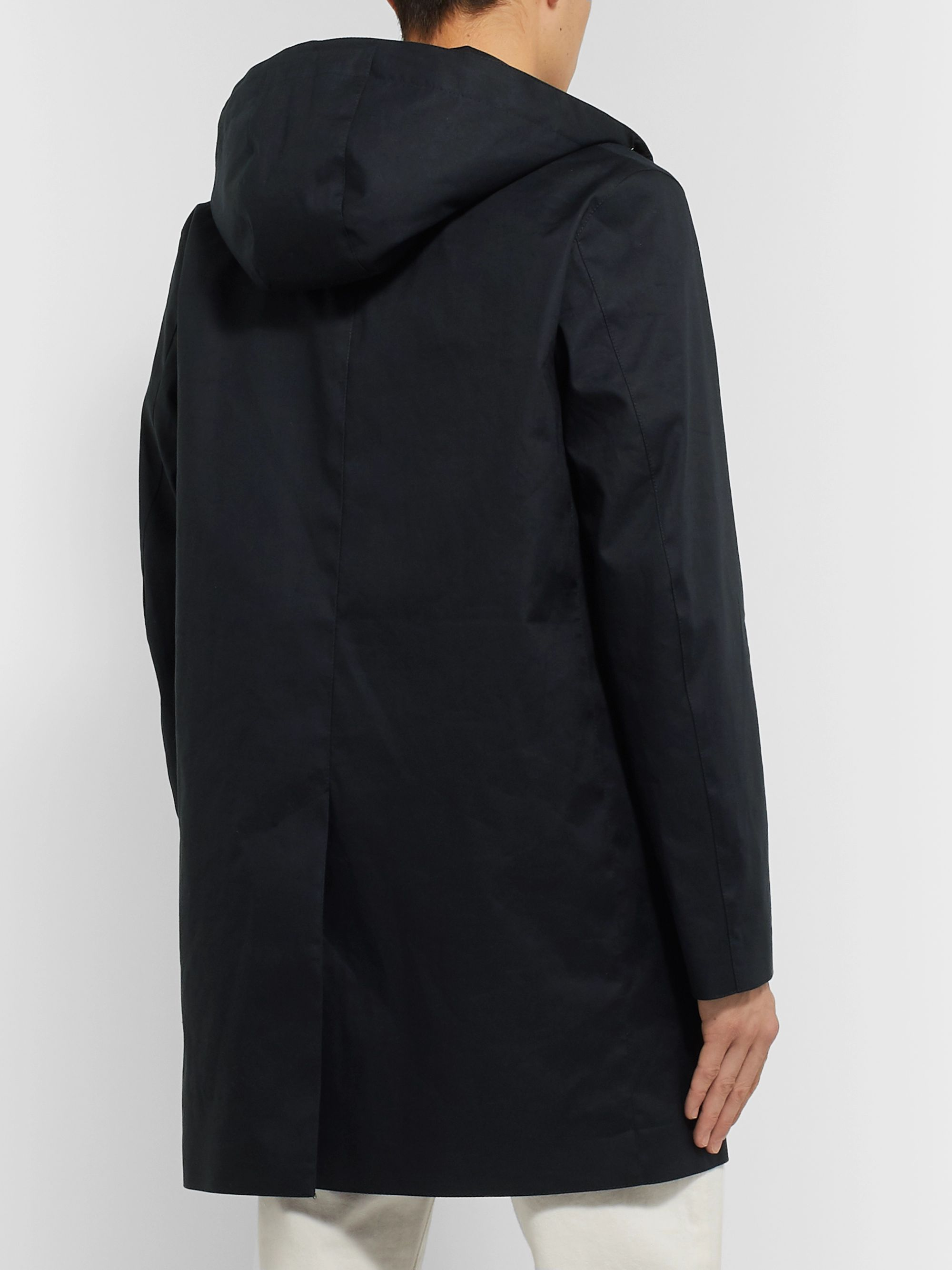 Mackintosh Bonded Cotton Hooded Raincoat