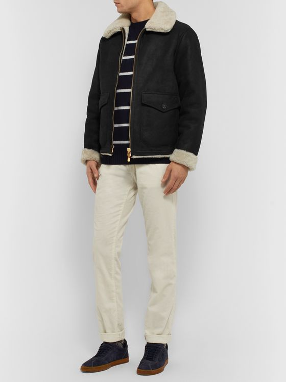 LARDINI Shearling Jacket