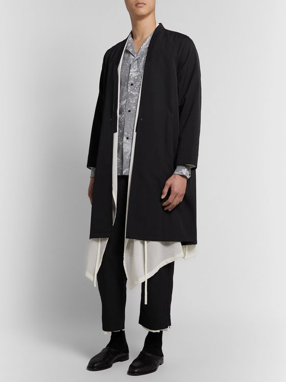 Sasquatchfabrix. Layered Wool Coat
