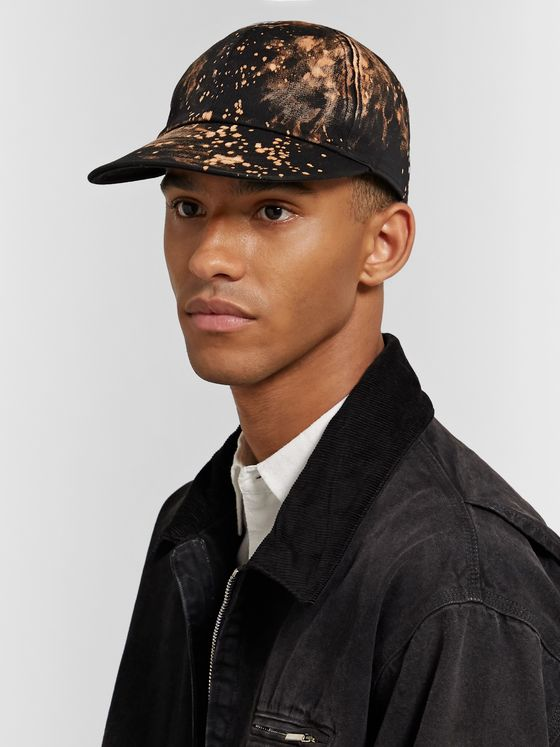 Sasquatchfabrix. Bleached Cotton-Blend Twill Baseball Cap