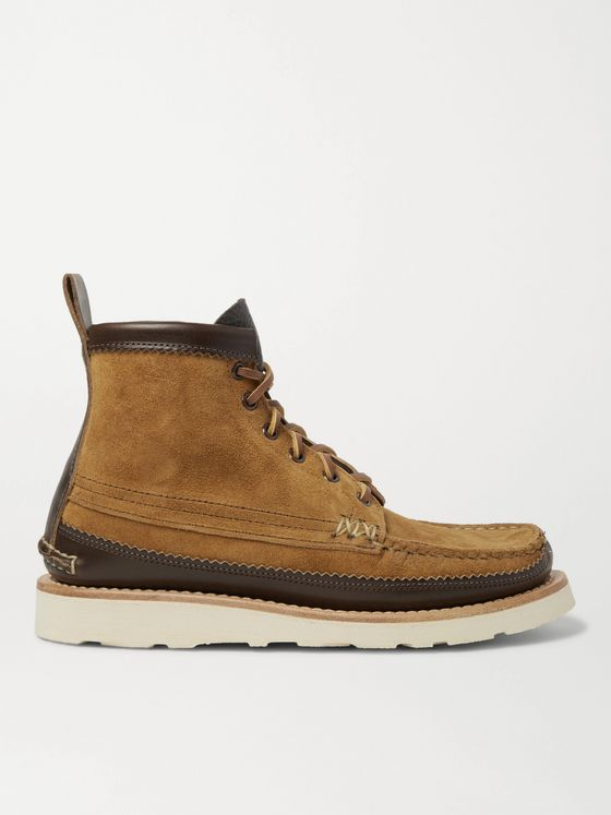 Yuketen Maine Guide 6 Eye Textured-Leather Boots
