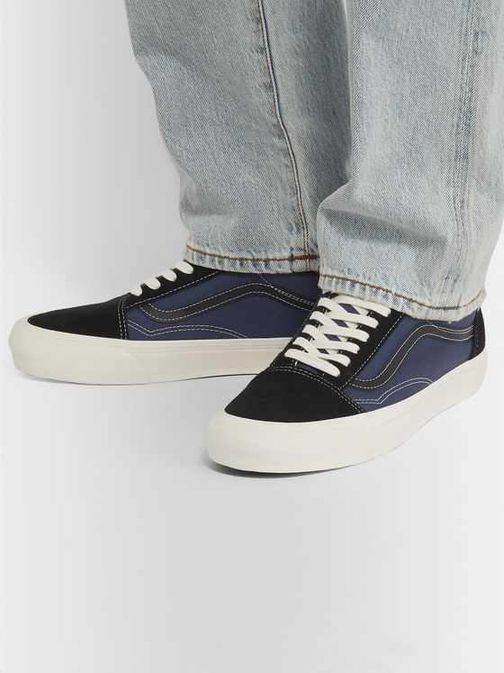 Vans OG Old Skool LX Canvas and Suede Sneakers