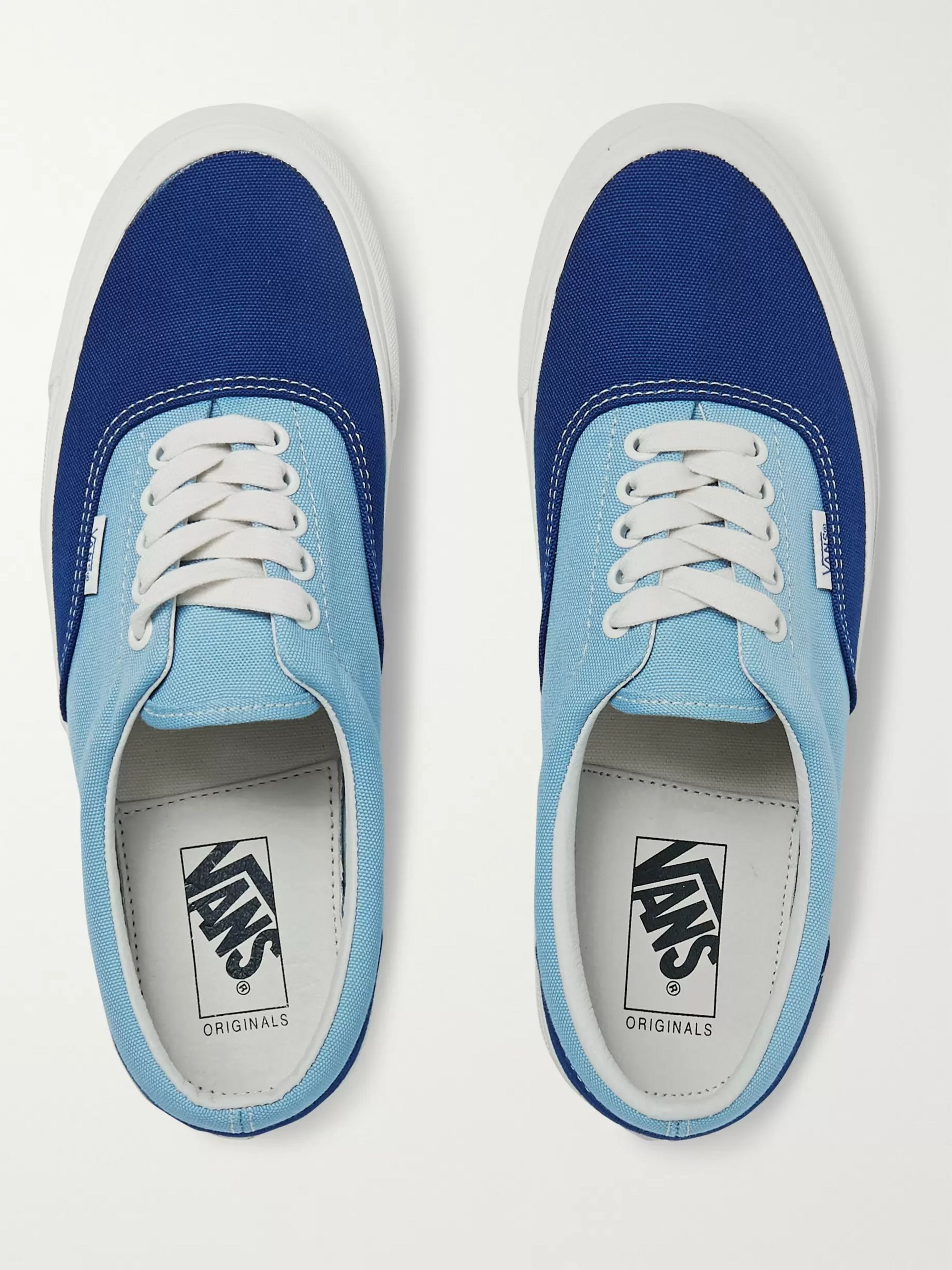 Vans OG Era LX Colour-Block Canvas Sneakers