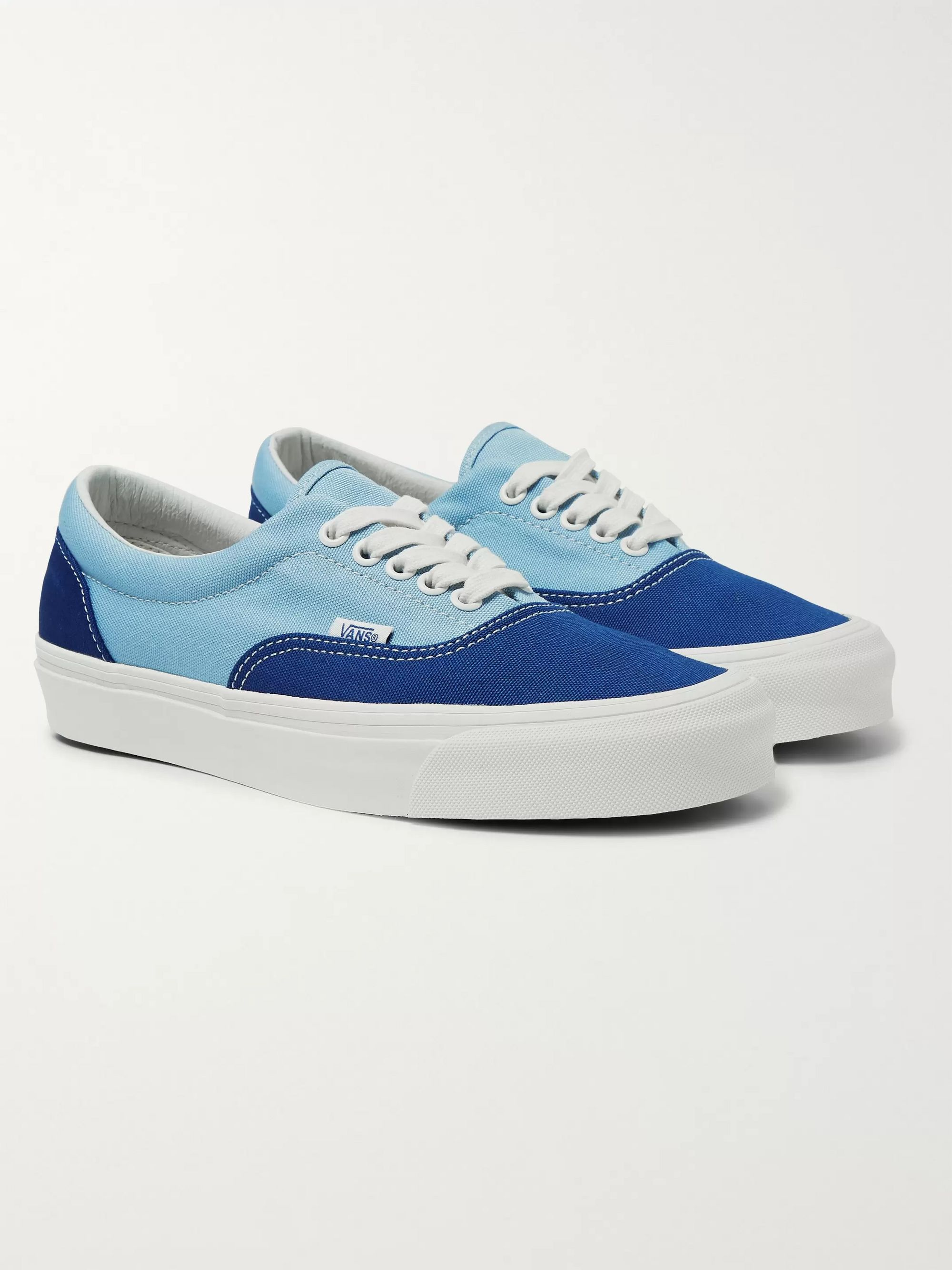 Og Era Lx Colour Block Canvas Sneakers by Vans
