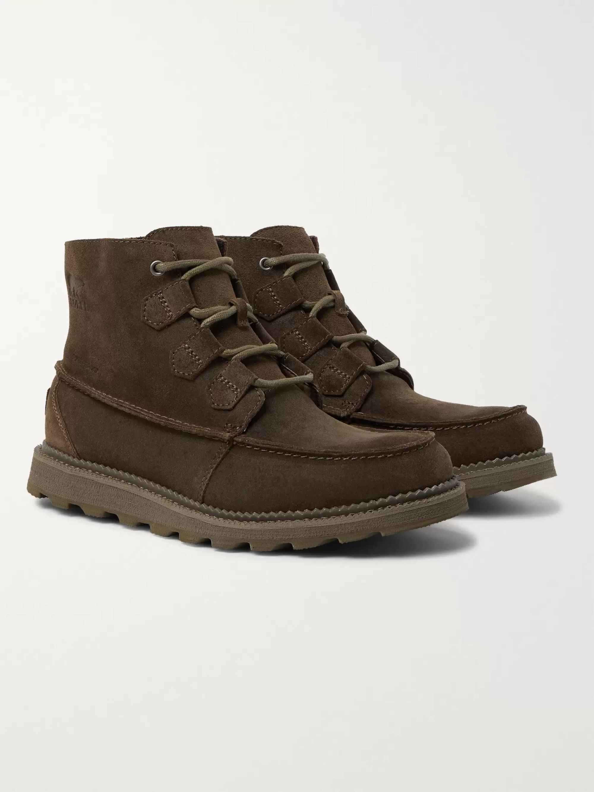 Sorel Madson Caribou Waterproof Leather Boots