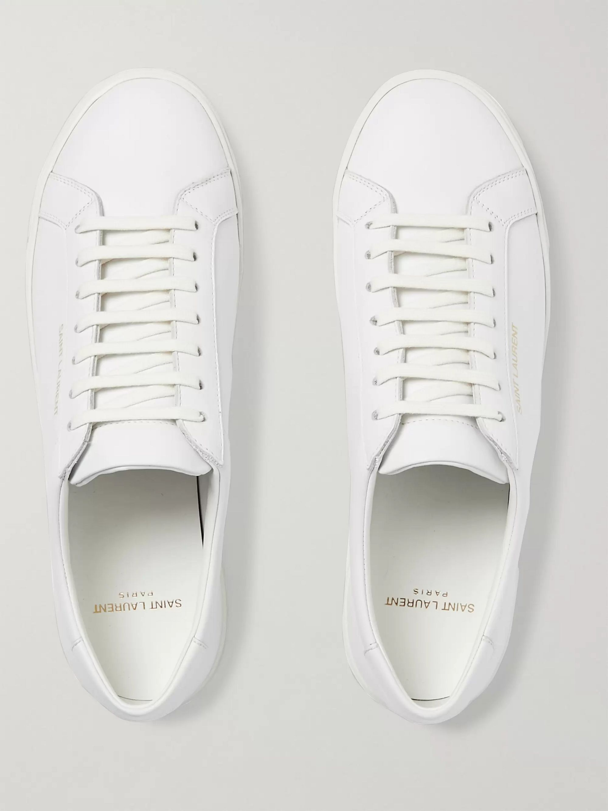 SAINT LAURENT Andy Leather Sneakers