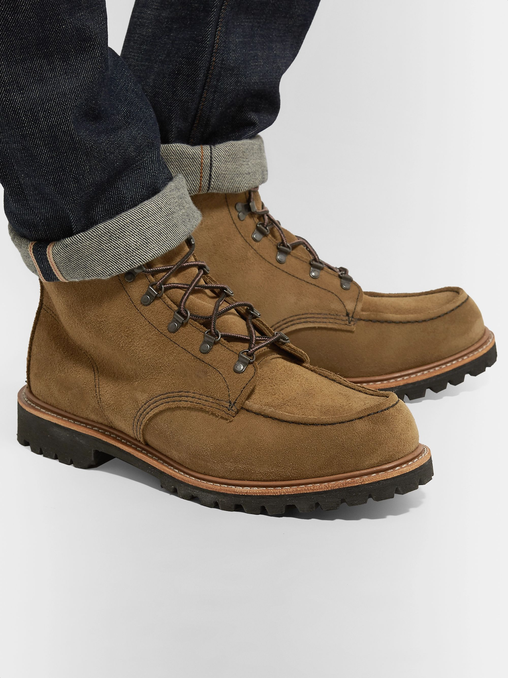 Red Wing Shoes 2926 Sawmill Roughout Leather Boots